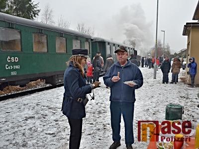 FOTO: Železniční trať Horka u Staré Paky – Turnov slavila 160 let