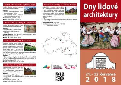 Dny lidové architektury zahájí s programem v Beranově hostinci