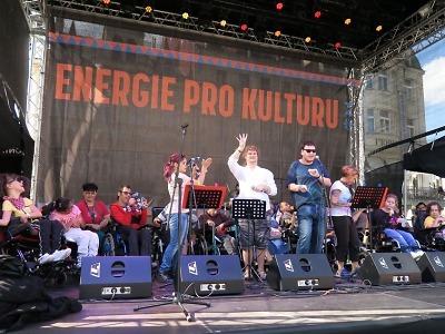 Putovní Festival Energie pro kulturu finišoval na libereckém náměstí