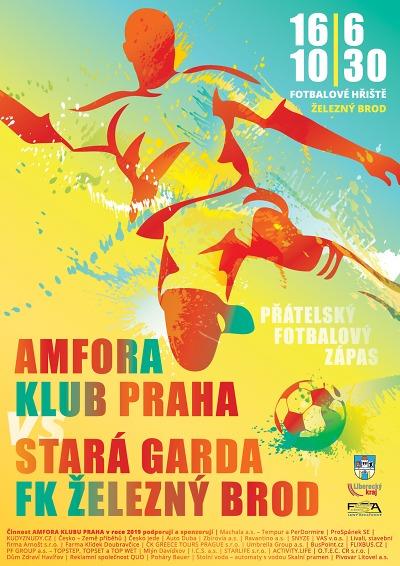 Amfora se při exhibici utká 16. června s FK Železný Brod