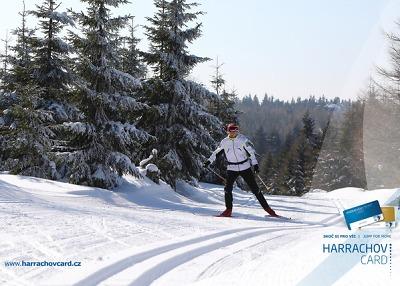 Běžecké lyžování a bezpečnost na sjezdovkách v Harrachově