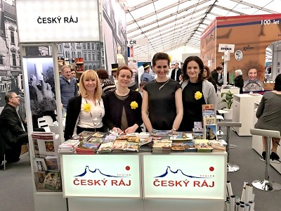 Český ráj prezentovali i v roce 2018 na veletrzích cestovního ruchu