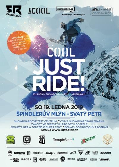Cool Just Ride 2019 odstartuje ve Špindlerově Mlýně