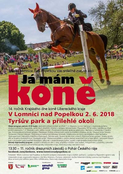 Fanoušci koní se sjedou do Lomnice na 14. ročník krajského dne