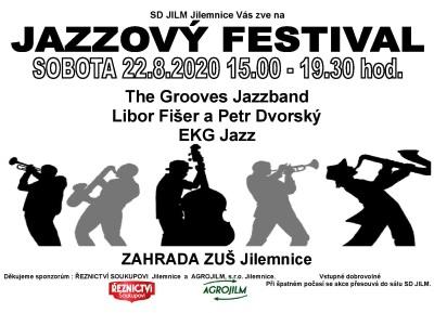 Jazzový festival chystají na zahradě ZUŠ Jilemnice