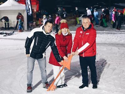Akce S rodinou na Ještěd nabídla lyžování, zábavu i zájezd kmoři