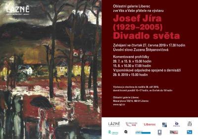 Výstavu malíře Josefa Jíry pořádá Oblastní galerie Liberec