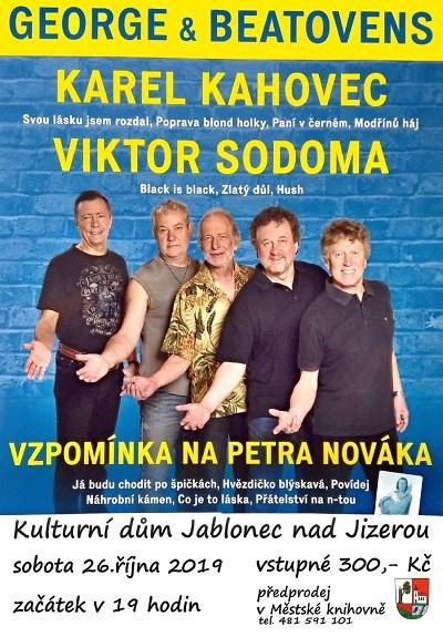 Kahovec a Sodoma zazpívají na společném koncertě v Jablonečku