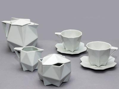 Severočeské muzeum představuje na kraji kubistický kávový servis