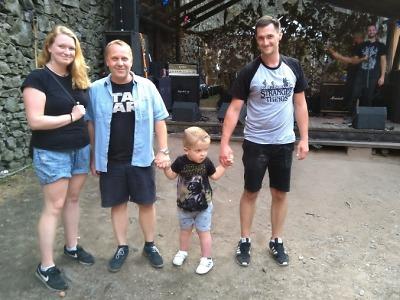 Metalový koncert pro Samíka na Troskách vynesl 50 tisíc korun