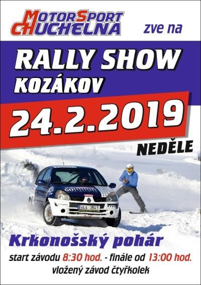 Místo autoskijöringu pořádají na Kozákově rally show