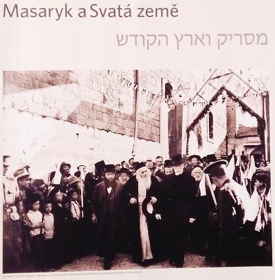 V liberecké knihovně probíhá výstava Masaryk a Svatá země