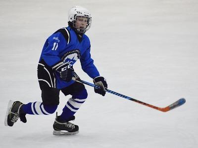 Mladý lomnický hokejista Maxim Vitkovič nastřílel za víkend 10 gólů