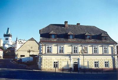 Rodný dům Ivana Olbrachta v Semilech je dnes sídlem muzea