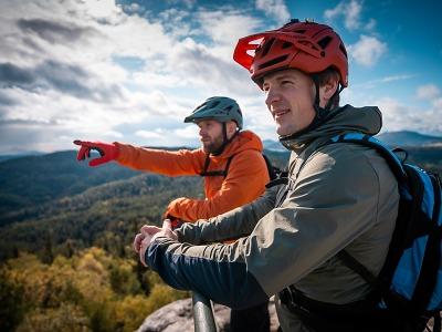 Lužické hory lákají náročné cyklisty i poklidné jezdce