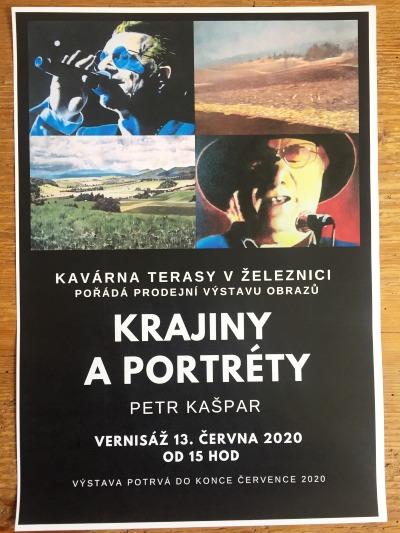 Malíř Petr Kašpar vystaví své Krajiny a portréty