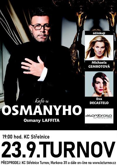 Osmany Laffita v Turnově odhalí historky ze života