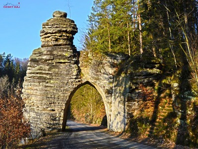 Nejkratší tunel v republice? Pekařova brána v Českém ráji