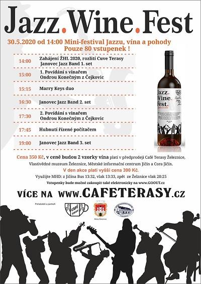 Jazz Wine Fest v Železnici oslaví začátek letní hudební sezony