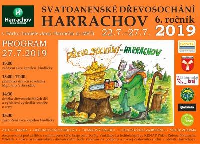 Svatoanenské Dřevosochání v Harrachově probíhá do 27. července