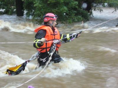 Hasiči vzpomínají na bleskové povodně z roku 2010