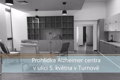 VIDEO: Prohlídka Alzheimer centra v Turnově