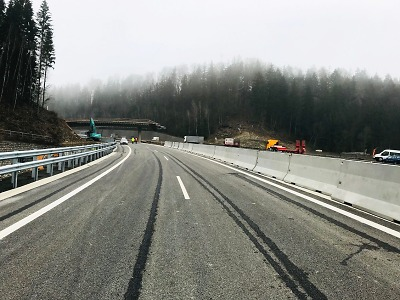 Od 13. prosince Rádelský mlýn průjezdný na dva pruhy v obou směrech