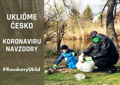 Akce Ukliďme Česko proběhne koronaviru navzdory! Ale individuálně