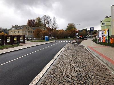 Rekonstrukce Nádražní ulice v Rychnově skončila, plánují opravy mostů