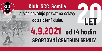 Oslava 20 let klubu SCC Semily