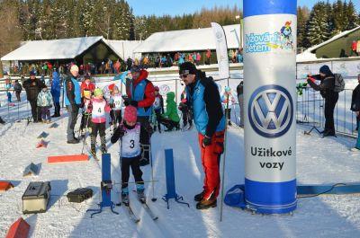 Ve Vysokém pokračoval krajský pohár lyžařů třetím závodem