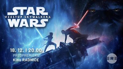 Předpremiéru Star Wars: Vzestup Skywalkera dávají i pojizerská kina