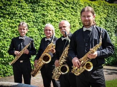 Zámecké saxofonové kvarteto Josefa Žemličky zahraje klasiky v KC Golf