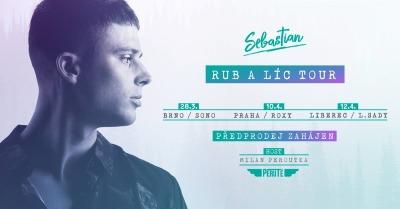 Zpěvák Sebastian zakončí tour Rub a líc v rodném Liberci