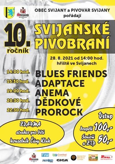 Jubilejní desáté Svijanské pivobraní oživí koncerty i další zábava