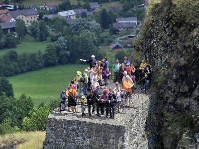 Do Českého ráje o státních svátcích zamířily tisíce návštěvníků