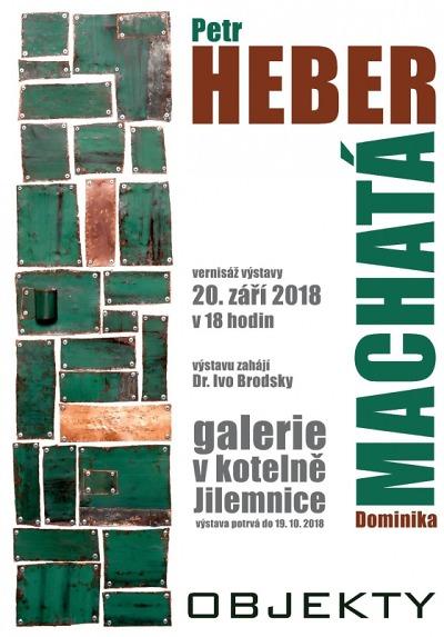 Jilemnická Galerie V Kotelně zahájí výstavu Objekty