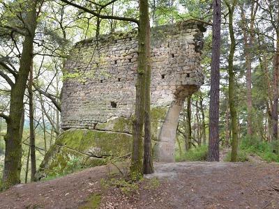 Hrad Vítkovec u Milčanského rybníka zničila třicetiletá válka