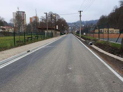 Železnobrodská ulice Obránců míru prošla rekonstrukcí