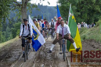 Obrazem: 13. ročník Spanilé jízdy cyklostezkou Járy Cimrmana