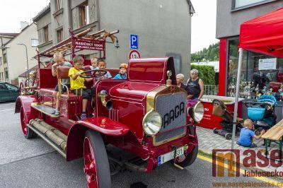 Obrazem: Oslava 10. výročí hasičské zbrojnice na Šumburku