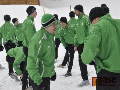 Fotbalistům Jablonce začala tvrdá příprava na jaro