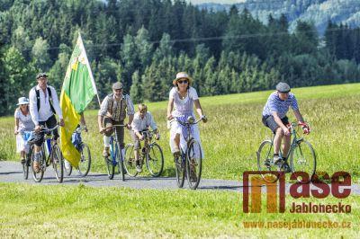 Obrazem: XII. ročník Spanilé jízdy Cyklostezkou Járy Cimrmana
