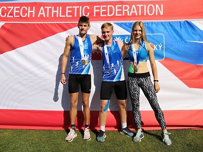 Na šampionát juniorstva a dorostu do Ostravy jede 10 atletů AC Turnov