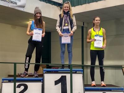 Turnovští atleti mají v halové sezoně první medaile