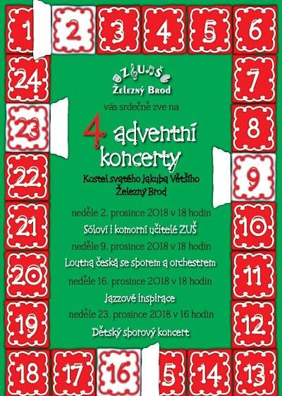 Adventní čas vŽelezném Brodě vyplní koncerty i další akce
