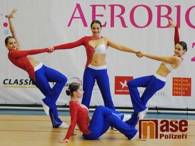 FOTO: Jednotlivci i týmy bojovali v aerobiku o nominaci v semilské hale