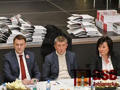 Liberecký kraj hodnotí rok po návštěvě tehdejší vlády Andreje Babiše
