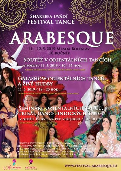 Jubilejní festival tance Arabesque pořádají v Mladé Boleslavi