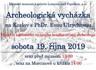 Archeologická vycházka na Kozlov s Evou Ulrychovou